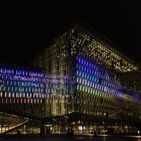 Photo taken at Harpa by Chantal T. on 3/14/2013