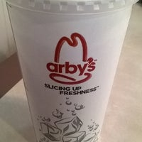 Photo taken at Arby's by Amanda T. on 4/16/2014