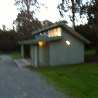 Photo taken at Toilet at Jells Park in front of Yabbie Hill by Alex T. on 7/10/2013