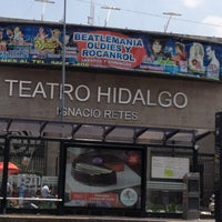 7/20/2013 tarihinde Yaz S.ziyaretçi tarafından Teatro Hidalgo'de çekilen fotoğraf