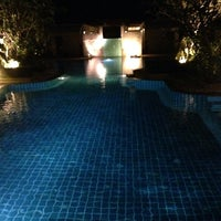 Photo taken at Tachawan Resort & Restaurant by Evgeniy K. on 1/9/2014