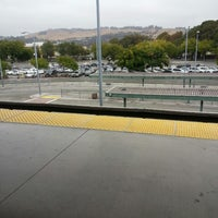 Photo taken at Bay Fair BART Station by Dorothy D. on 8/9/2014