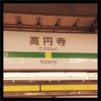 Photo taken at Kōenji Station by Satoshi E. on 9/29/2012