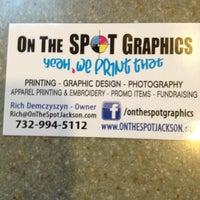 Photo taken at On the Spot Graphics by Ruthi B. on 5/18/2013