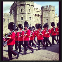 Photo taken at Windsor Castle by Giulienne B. on 5/25/2013