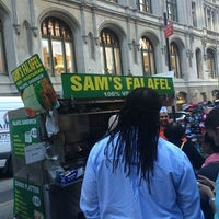 Photo taken at Sam's Falafel by Marina S. on 10/17/2014