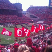 Photo taken at Ohio Stadium by Meghan S. on 9/22/2012