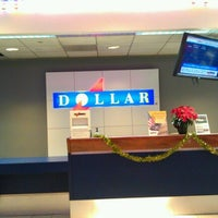 Photo taken at Dollar Rent A Car (EWR) by Kim S. on 12/29/2012