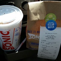Photo taken at SONIC Drive In by John Wayne L. on 4/13/2014