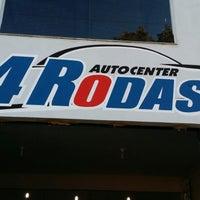 Photo taken at Auto Center 4 Rodas by Silvio P. on 6/3/2014