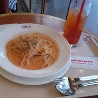 Photo taken at イタリアン・トマト カフェジュニア 千日前通り店 by grace on 6/7/2015