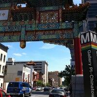 5/5/2013 tarihinde ariq d.ziyaretçi tarafından Gallery Place - Chinatown Metro Station'de çekilen fotoğraf