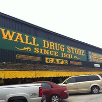 Photo taken at Wall Drug by ariq d. on 5/26/2013