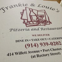 Photo taken at Frankie & Louie's by Colllleeen C. on 3/21/2013