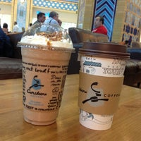 Photo taken at Caribou Coffee by Salvatore G. on 3/8/2013