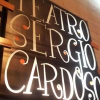 Photo taken at Teatro Sérgio Cardoso by Graziele on 10/27/2012