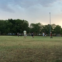 Photo taken at Annerley Football Club by Andrés M. on 12/29/2013