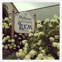Photo taken at Lucas Vineyards by John E. on 8/31/2013