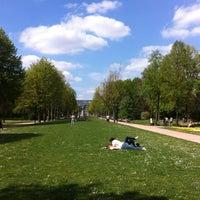 Photo taken at Zuidpark (Koning Albert I-park) by Eva S. on 5/5/2013