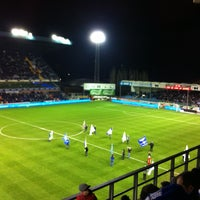 Photo taken at Jules Ottenstadion by Eva S. on 3/16/2013