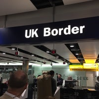 Photo taken at Security/Passport Control - T3 by Dave C. on 10/2/2016