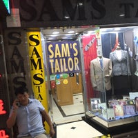 Photo taken at Sam's Tailor by Dave C. on 8/2/2016