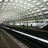 Photo taken at Judiciary Square Metro Station by Jerry on 12/11/2012