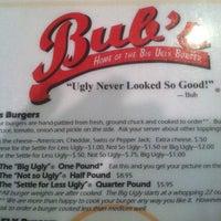 Photo taken at Bub's Burgers & Ice Cream by Matthew B. on 1/25/2013