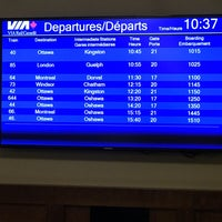 Photo taken at VIA Rail Business Lounge - Union Station by Ed on 7/28/2017
