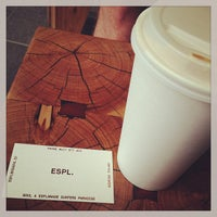 Photo taken at ESPL Coffee Brewers by James I. on 1/24/2013