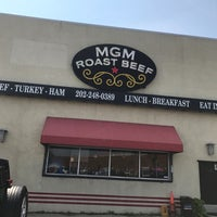 Photo taken at MGM Roast Beef by Dahn B. on 8/31/2017
