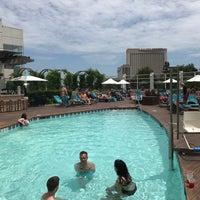 Photo taken at Water Club Pool by Dahn B. on 7/1/2017