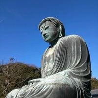 Photo taken at Great Buddha of Kamakura by Yuji I. on 1/1/2013