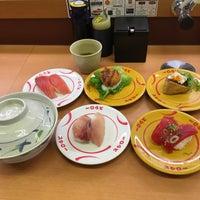 Photo taken at スシロー 東大阪花園店 by Koji T. on 4/27/2016