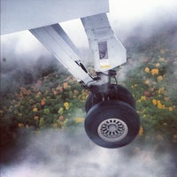 Photo taken at Ithaca Tompkins Regional Airport (ITH) by Josh H. on 10/6/2012