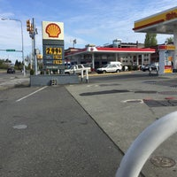 Photo taken at Shell by Anthony L. on 4/9/2015
