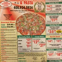 Photo taken at Fast Express Pasta & Pizza by Anthony L. on 8/28/2014