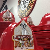 Photo taken at Firehouse Subs by J B. on 6/27/2013