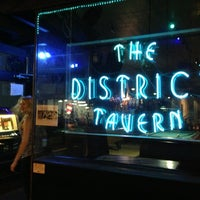 Photo taken at The District Tavern by J B. on 7/18/2013