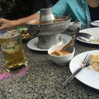 Photo taken at Sanae Chai Nam by Saman T. on 7/20/2014