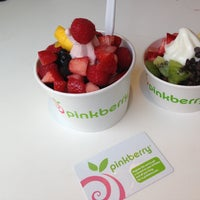 Photo taken at Pinkberry by Dilek K. on 5/13/2013