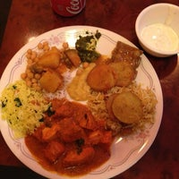 Photo taken at Touch Of India by Dilek K. on 2/26/2013