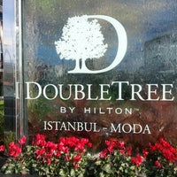 Photo taken at DoubleTree by Hilton Hotel Istanbul - Moda by Anıl ö. on 12/8/2012