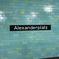 Photo taken at Bahnhof Berlin Alexanderplatz by Jeff B. on 12/3/2017