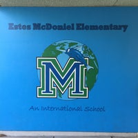 Photo taken at Estes Mcdoniel Elementary School by Chad L. on 9/10/2015