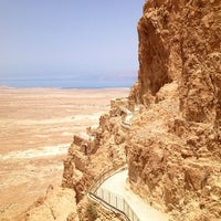 Photo taken at Masada by Luca on 6/5/2013