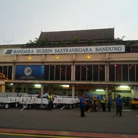Photo taken at Husein Sastranegara International Airport (BDO) by Razer on 3/21/2013