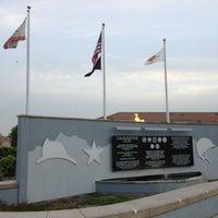 Photo taken at City of Highland Veterans Memorial by Alejandrina D. on 3/30/2013