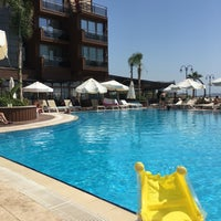 Photo taken at Suhan360 Hotel & Spa by Gökhan K. on 7/17/2017