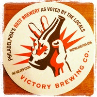 Photo taken at Victory Brewing Company by Sean G. on 5/7/2013